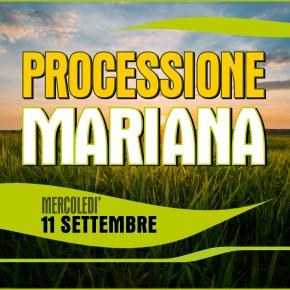 """Processione con la """"Madonna della Campagna"""""""