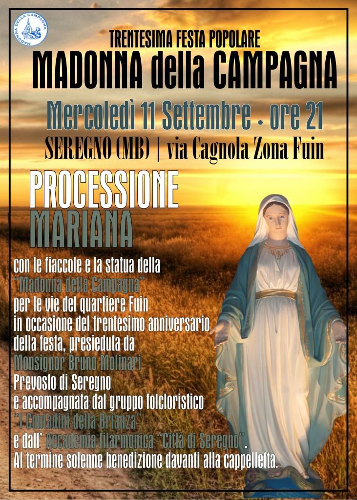 locandina processione