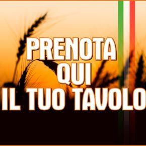 ALLA FESTA SI ENTRA SOLO CON PRENOTAZIONE DEL TAVOLO PER LA CENA! PRENOTA QUI!